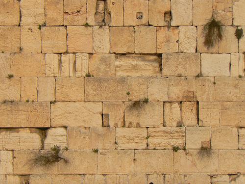 The Kotel, the Western Wall via ldjaffe on Flickr
