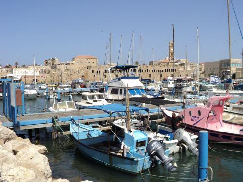 The ancient port of Akko. Credit TouristIsrael.com