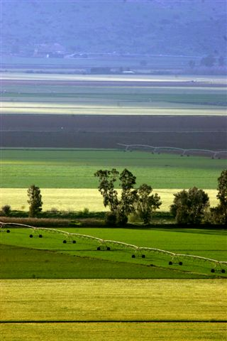 What to do in Israel - the beautiful landscapes of the Galilee