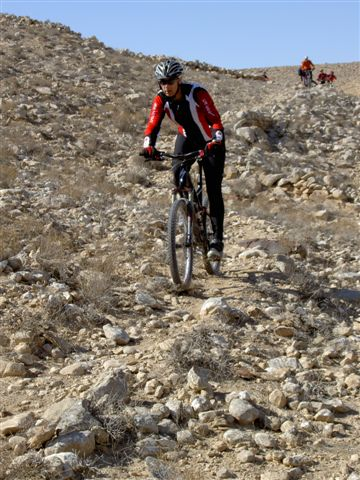 Biking along the Negev Desert's great trails