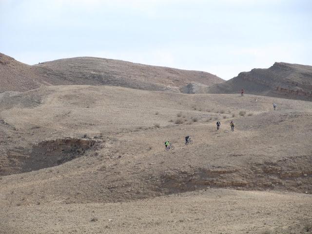 Biking in the Negev