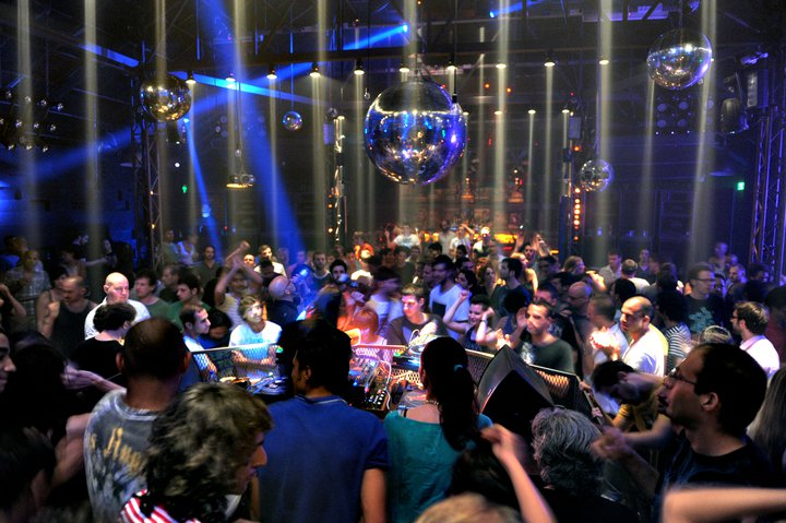 The Block club in Tel Aviv. One of the most well known Tel Aviv nightlife destinations.