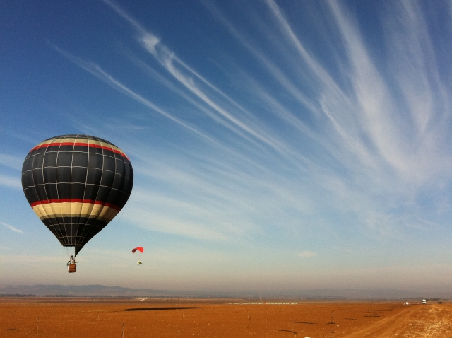 Hot Air Ballooning In The Negev