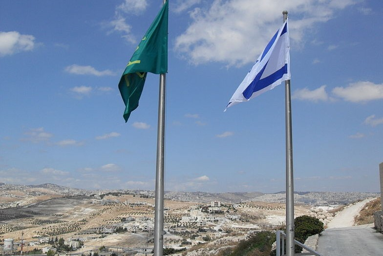 Flags at Herodium. Image wikicommons