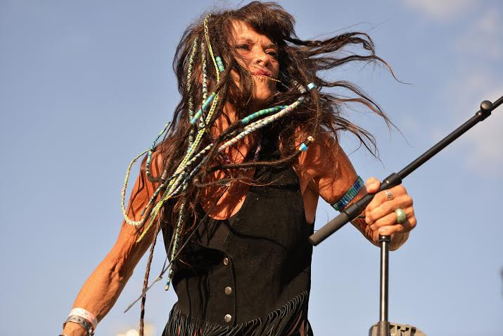 Rocking at the Woodstock Revival. Image Sharon Shapira