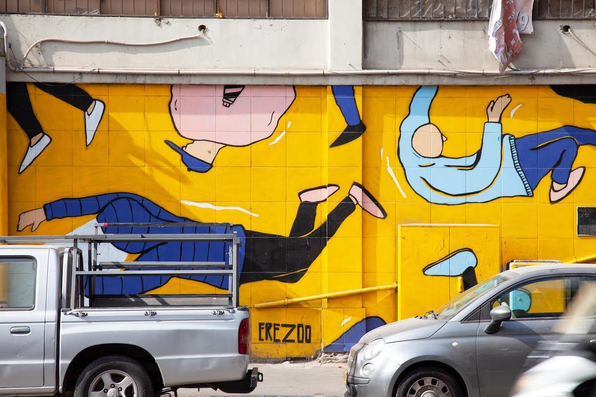 Tel Aviv Street Art Tour1