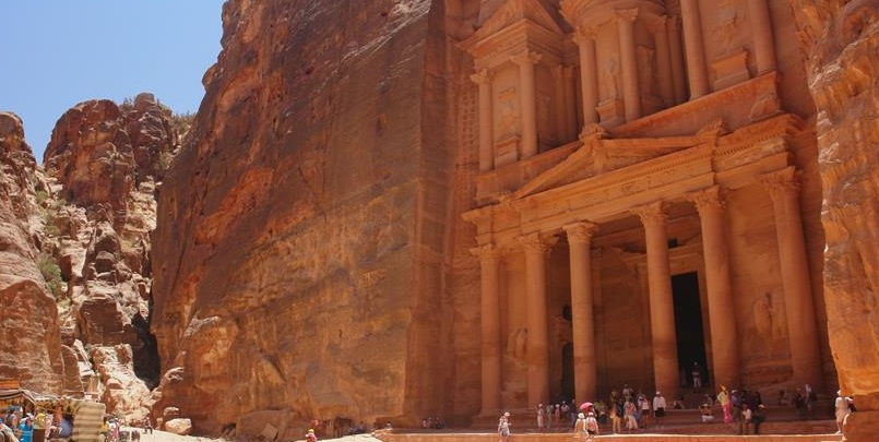 The Treasury is a must-see on a tour of Petra.
