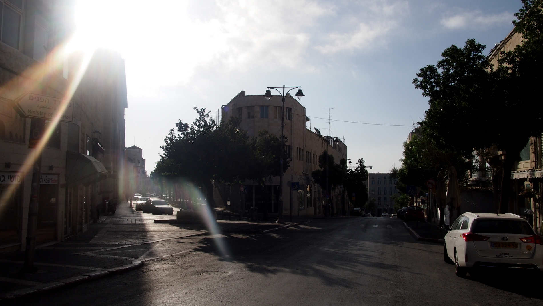 Jerusalem's city center is a great place to stay