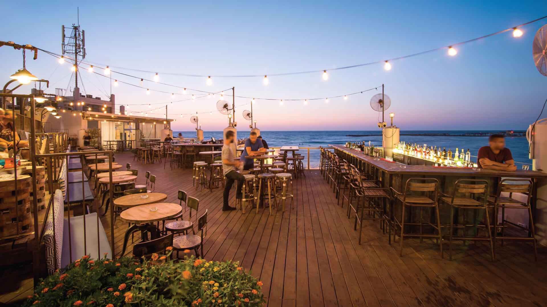 Rooftop in Tel Aviv