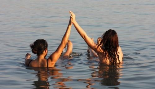honeymoon in israel dead sea