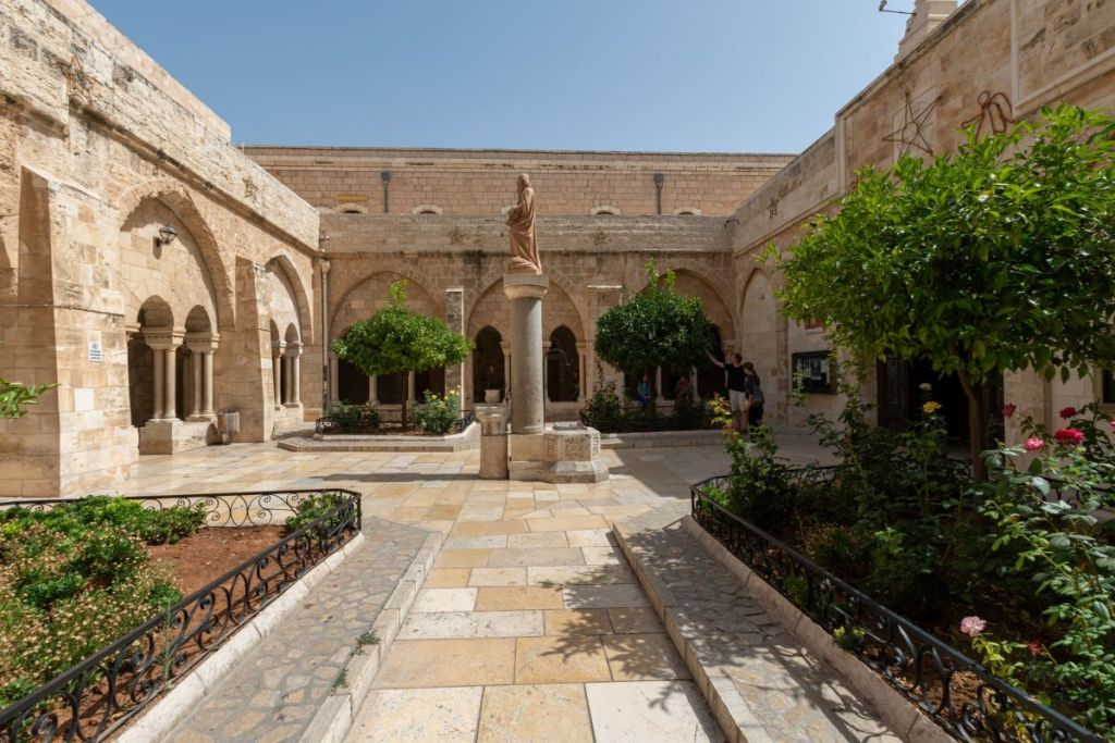 Bethlehem, a place not visited in Israel on Taglit Birthright