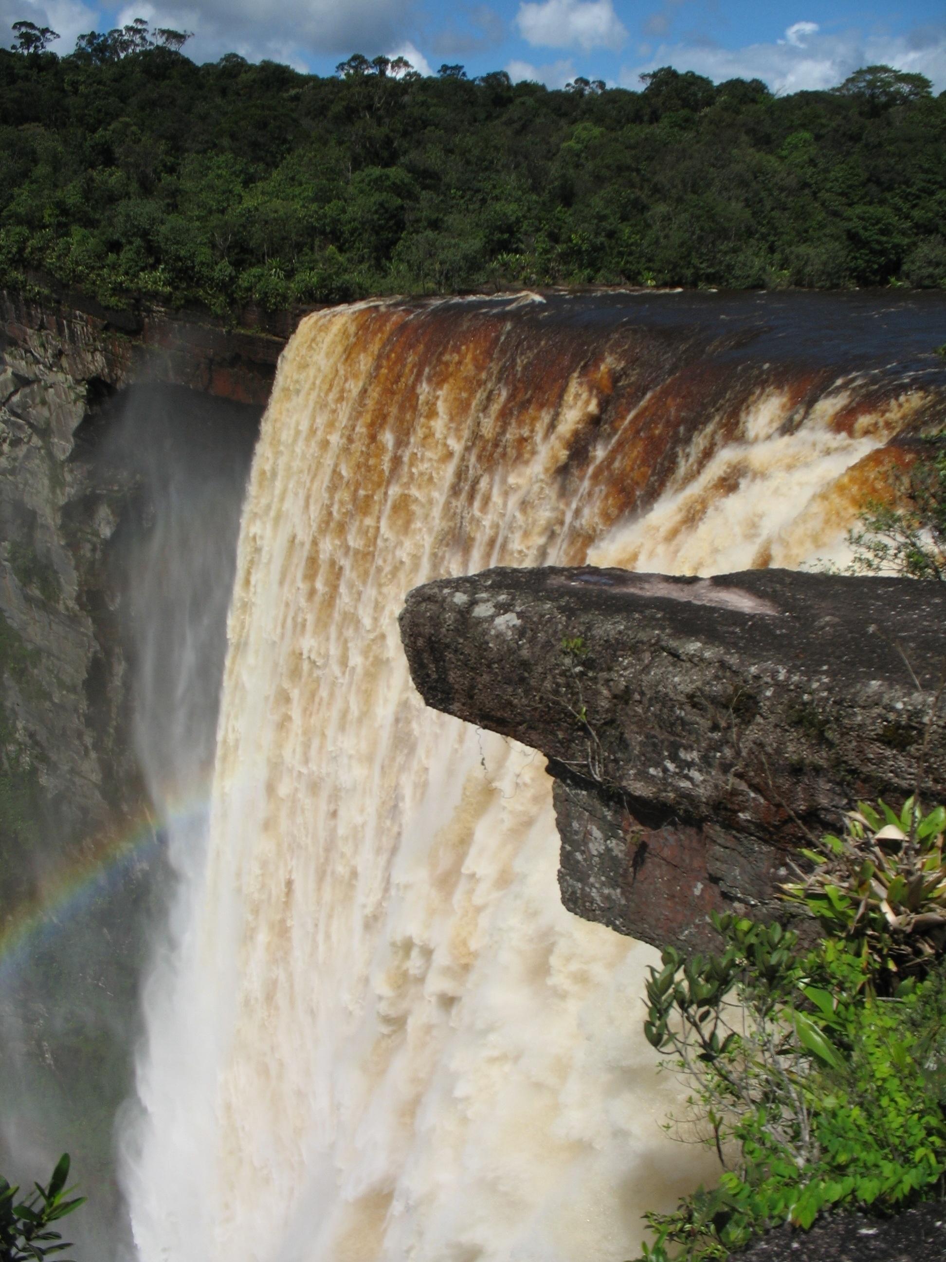 Guyana Wallpaper Kaieteur Falls Guyana Tourist Maker