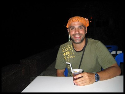 Thaïlande, drink, voyageur, soirée, voyage, trip, Asie