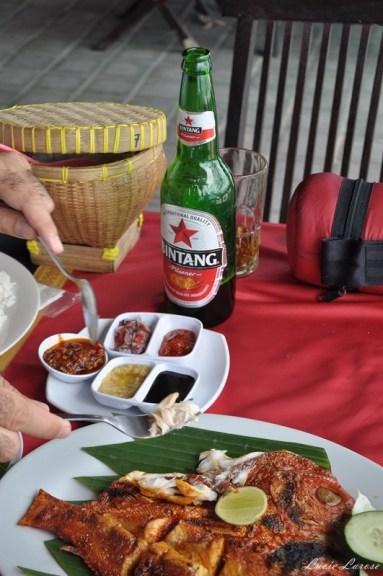 Indonésie, Bali. nourriture, bière,