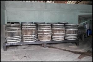 Cuba, Vinales, rhum, fabrique