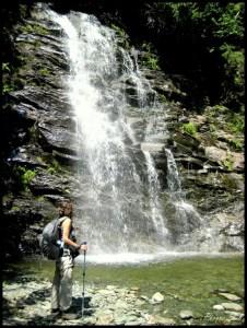 Gaspésie, chute, randonnée, nature, plein air, sport, Québec