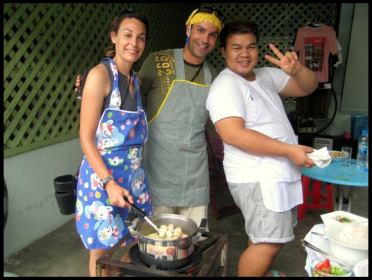 Cours de cuisine thaïe, culture, Thaïlande, cuisine thaïlandaise