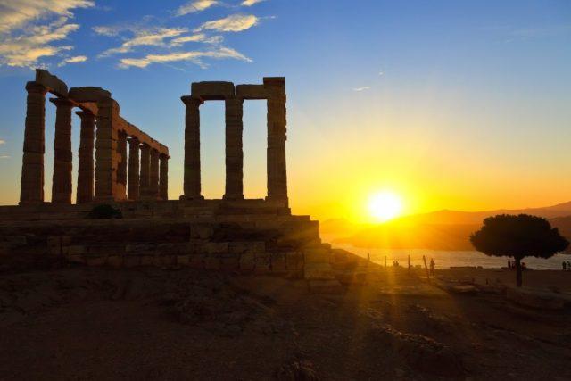 Temple of Poseidon, Athens, Greece