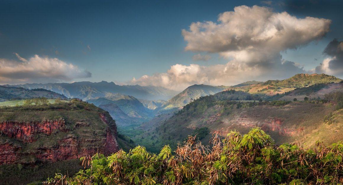 Kauai Hawaii Canyon Majestic Scenic