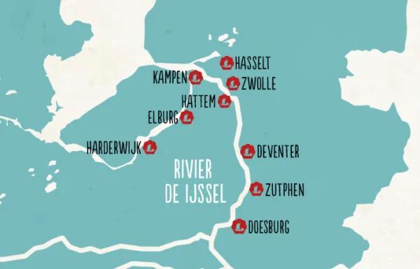 Hanzesteden verbonden door het water Visit Hanzesteden