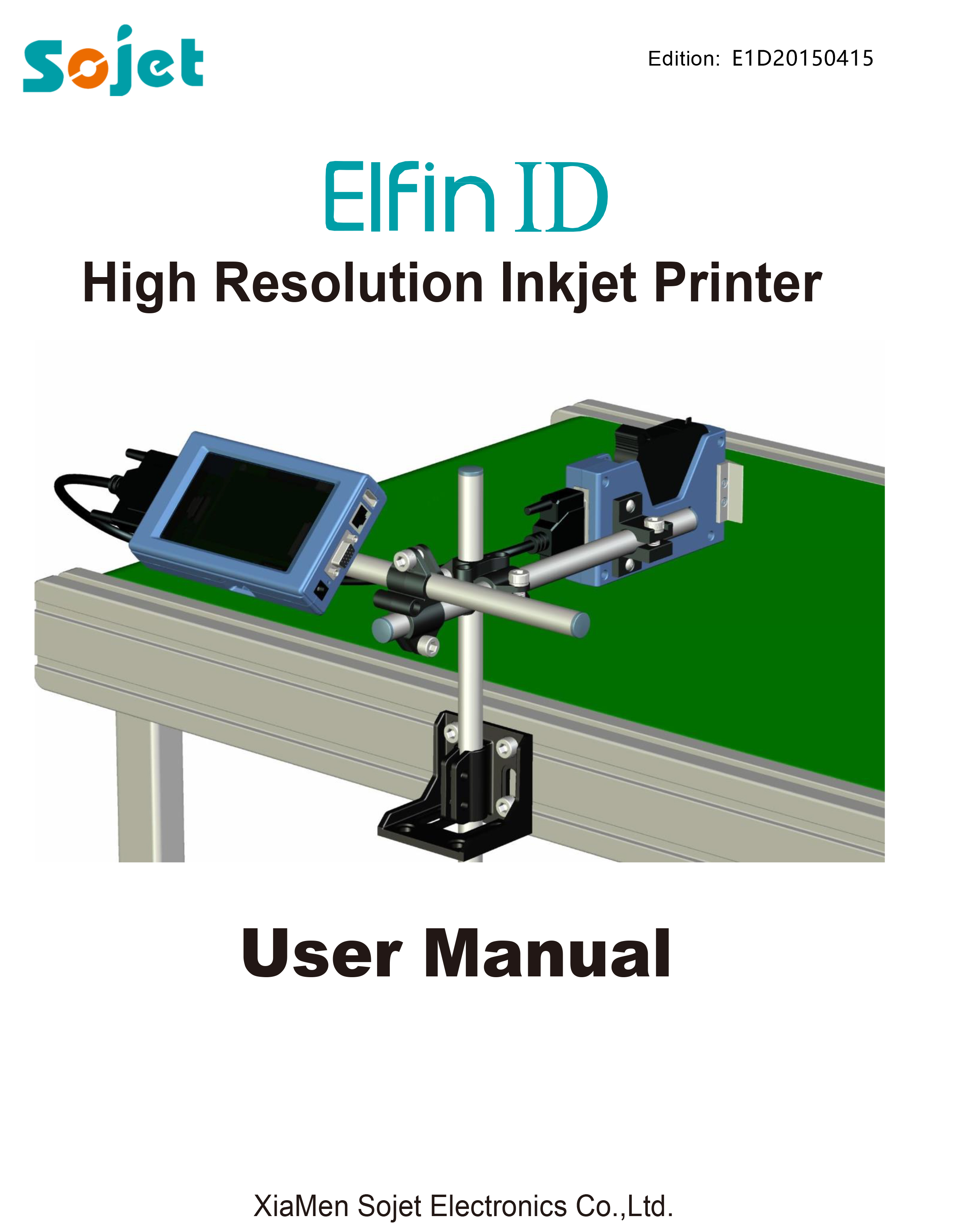 Elfin 1D User Manual E1D20150415 1 - Product Manuals