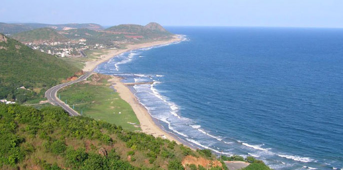 Ramakrishna-Beach,-Visakhap Beaches in India