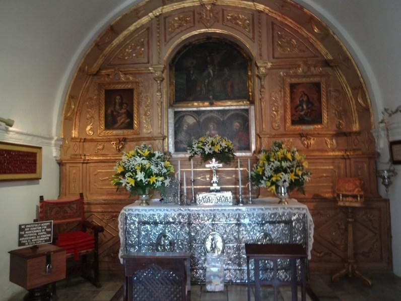 Capilla de Cristo altar