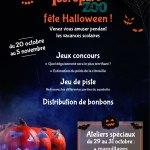 Halloween au parc zoologique !!