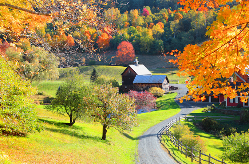 Free Fall Screensavers And Wallpaper 10 Best Places To Visit In Vermont With Photos Amp Map