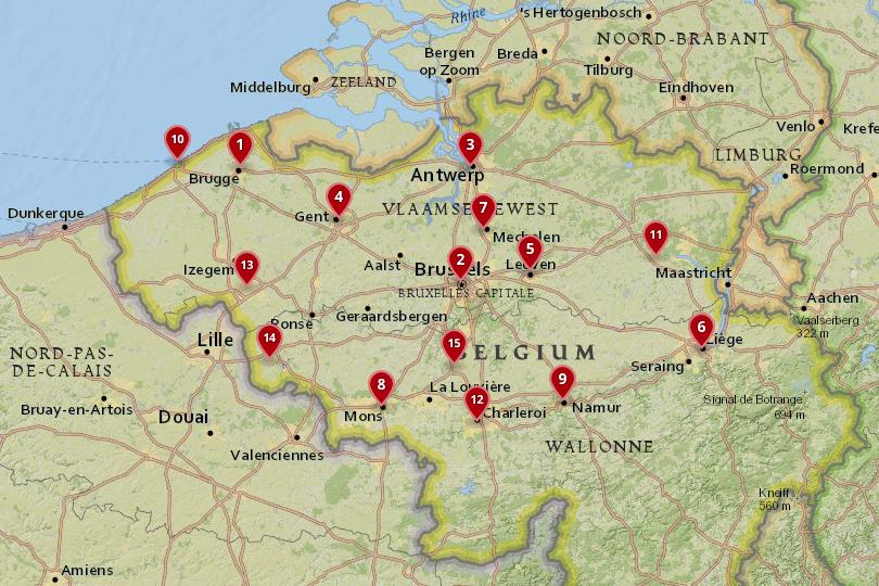 15 best cities to