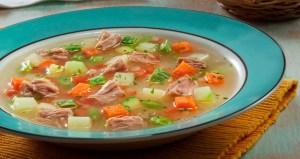 Sopa de Legumes com Atum