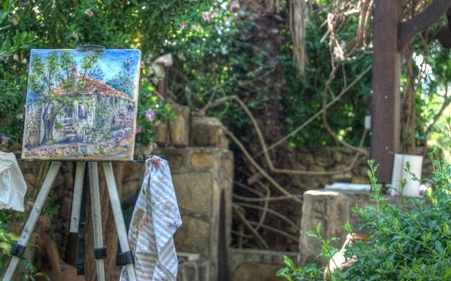 Here Know about Turkish Painting Ferien in Bodrum
