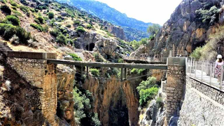 Caminito del Rey group walking tour