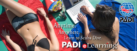PADI dive course-elearning