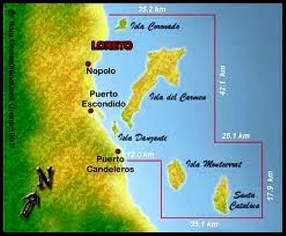 Loreto National Marine Park Baja California Sur
