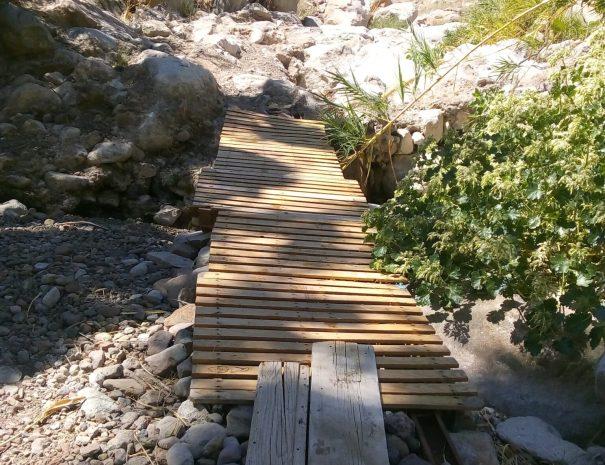 Las Parras trail