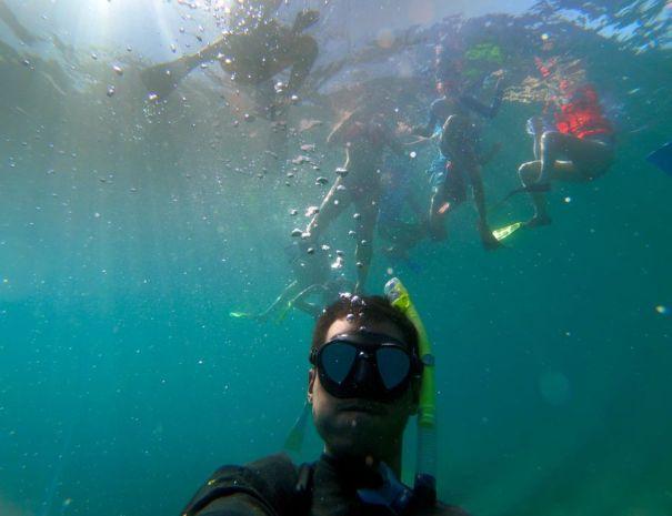 Snorkel tour Danzante Island