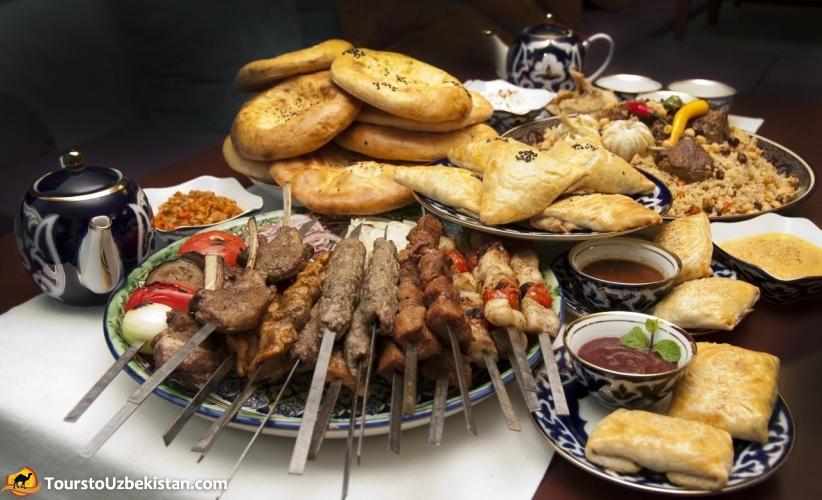 Uzbek cuisine  Photogallery Photogallery of Uzbekistan Tours to Uzbekistan