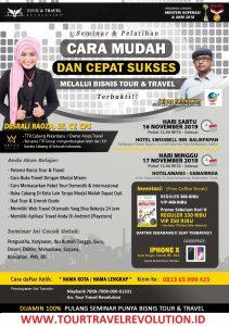 Seminar Tour Travel Revolution Balikpapan