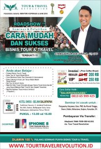 Seminar Tour Travel Revolution Balikpapan