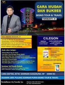 Seminar Tour Travel Revolution Cilegon
