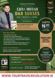 Seminar Tour Travel Revolution Jakarta