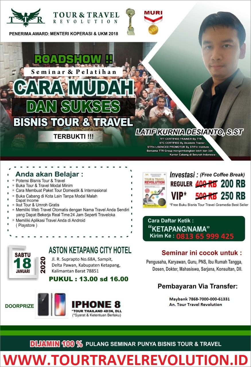 Seminar Tour Travel Revolution Ketapang