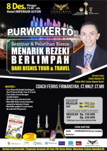 Seminar Tour Travel Revolution Purwokerto