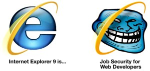 IE9 Breaks Websites