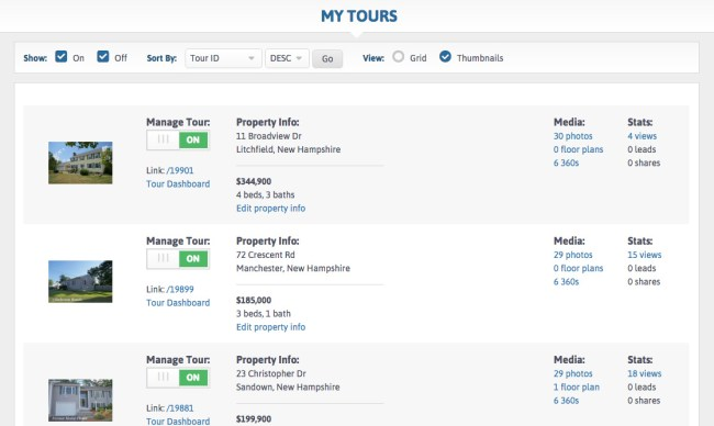 My Tours