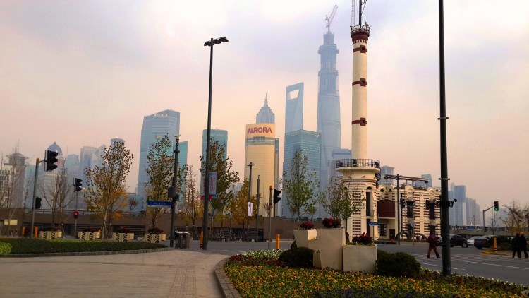 Shanghai Bund View - Early Morning