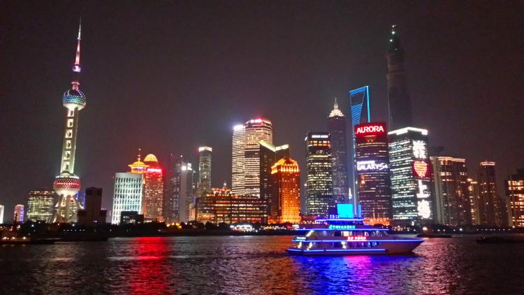 Shanghai Bund View - Night