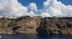 How to get to Fira from Santorini Port