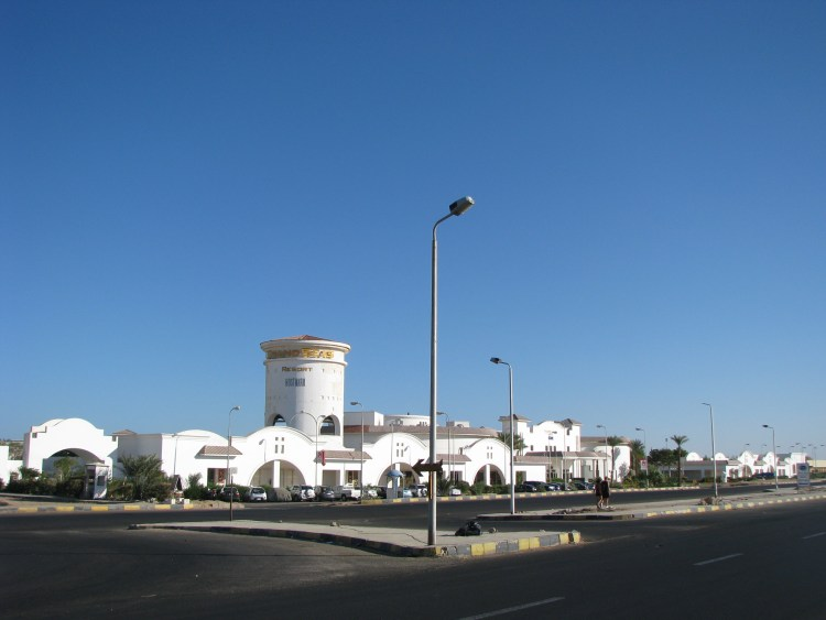 Hurghada Egypt - Main Road